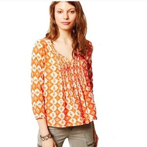 Anthropologie Vanessa Mahdia blouse